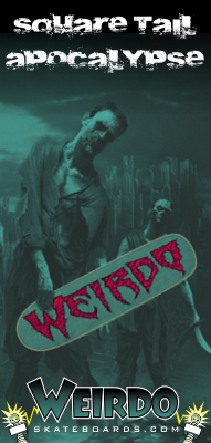 weirdo zombie side banner ad